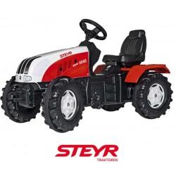 Rolly Toys Duży Traktor Farmtrack z nakładkami gumowymi na koła 3-8 lat