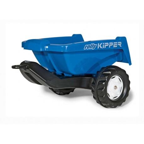 Rolly Toys Przyczepa niebieska Rolly Kipper do traktora