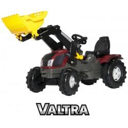 Rolly Toys rollyFarmTrac Duży Traktor z łyżką Valtra