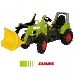 Rolly Toys Traktor na pedały CLAAS Arion 640 z łyżka pompowane koła