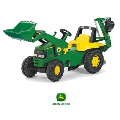 Rolly Toys Traktor na Pedały John DEERE +Łyżka +Tur