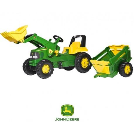 Rolly Toys WIELKI Traktor Na Pedały John Deere NOWOŚĆ