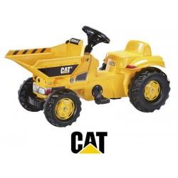 Rolly Toys Traktor na pedały Kid Dumper na licencji Caterpillar