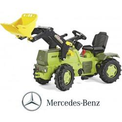 Rolly Toys rollyFarmTrac na Pedały z Biegami Mercedes Benz + Łyżka