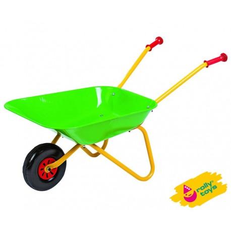 Rolly Toys Metalowa taczka zielona