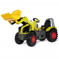 CLAAS Traktor na Pedały Łyżka Ciche Koła  3-10 Lat do 50kg