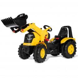 CAT Traktor na Pedały Łyżka Ciche Koła  3-10 Lat do 50kg