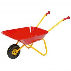 Rolly Toys Metalowa taczka Czerwona dla dzieci