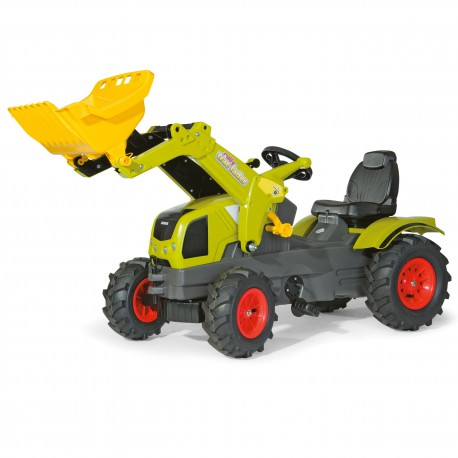 Rolly Toys rollyFarmtrac CLAAS traktor na pedały z łyżką i pompowanymi kołami